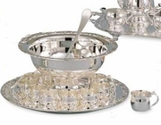 Elegance® Hotel Collection Silverplated Punch Bowl Set 13pc.