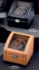 Watch Winder for 2 Watches Leather Case