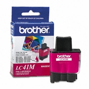 Brother LC41M Ink, 400 Page-Yield, Magenta