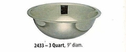Wide Mixing Bowl Stainless Steel 3 QT