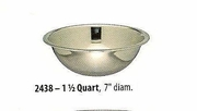 Wide Mixing Bowl Stainless Steel 1-1/2 QT