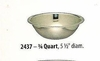 Wide Mixing Bowl Stainless Steel  3/4QT