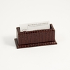 Business Card Holder Croco-Grained Leather