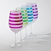 Banda Goblets  8pc/Set   (2ea of 4 colors)