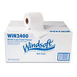 Windsoft Recycled Two-Ply Toilet Tissue 400sheet Rolls 24/case