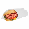 Grease-Resistant Paper Sandwich Wrap  White 14  x 14 1000sh/bx