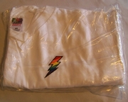 T-Shirt Gay Pride Rainbow Lightning Bolt Design