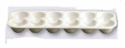 Egg Crate Tray Procelain