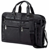 Embassy™ Solid Genuine Leather Portfolio Briefcase