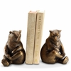Lonely Bear Aluminum Bookends