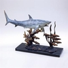 Shark with Prey Sculpture