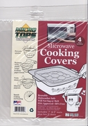 Mircro Tops™ Microwave Cooking Covers  4pc set