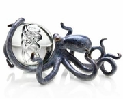 Octopus with Treasure Sculpture