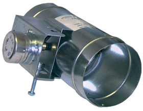 6 Inch Motorized Damper