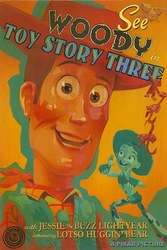 """See Woody in Toy Story 3"""
