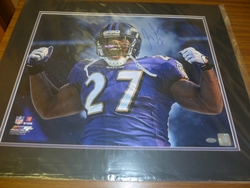 Baltimore Ravens Ray Rice Signed <br> 16x20 Photo