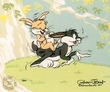 Horseyback Ride - Bugs Bunny Art