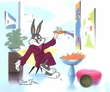 Bugs Bunny with Carrot LE 1/1 - Bugs Bunny Art