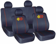 Momo Corse Front Low-Back & Rear Seat Cover Set (4 Piece)