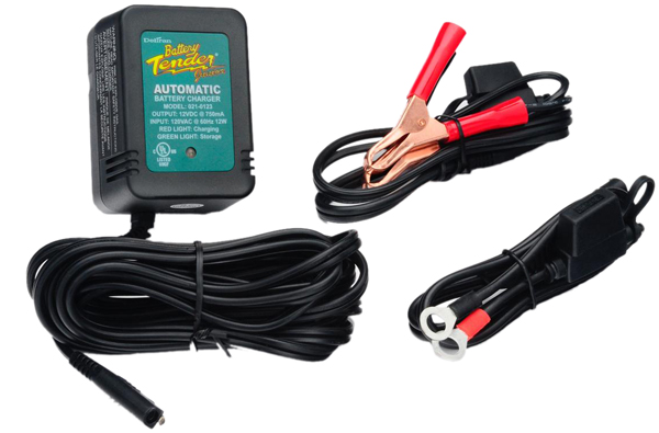 12 Volt Battery Tender Junior Battery Charger .75 Amps