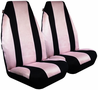 Pink Mesh Bucket Airbag Seat Cover (Pair)