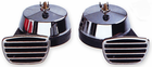 Torino Compact Chrome Plated Twin Electric Horn