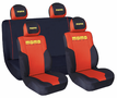 Momo Front Low-Back & Rear Mesh Seat Cover Set (4 Piece)