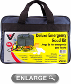 Victor Deluxe Emergency Road & Safety Kit