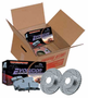 Power Stop Brake Pad & Rotor Kit