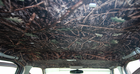 Heads-Up OptionZ Leaf Camouflage Van, Truck & SUV Headliner Kit