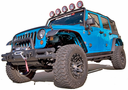 Jeep Wrangler JK All Terrain Flat Fender Flares 4 Piece Kit (2007-2011)