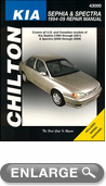 Kia Sephia & Spectra Chilton Manual (1994-2010)