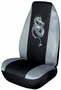 Gray Embroidered Dragon Universal Bucket Seat Cover