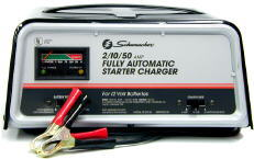 Schumacher Automatic Battery Starter/Charger 50/10/2 AMP