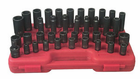 "1/2"" Drive Metric Master Impact Socket Set - 39 Pc."