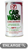 No. 7 Car Wash Concentrated Powder (8 oz.)