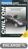 Toyota Camry Chilton Repair Manual (2007-2011)
