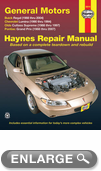 Buick Regal, Chevrolet Lumina, Olds Cutlass Supreme & Pontiac Grand Prix Haynes Repair Manual (1988-2007)
