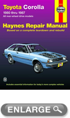 Toyota Corolla Haynes Repair Manual (1980-1987)