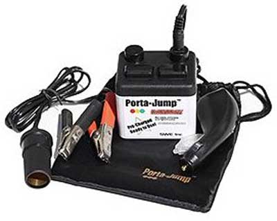 porta jump emergency jump starter instructions