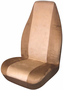 Tan Memory Foam Universal Bucket Seat Cover