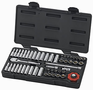 "Gearwrench 1/4"" Drive, 6 Pt. Fractional /Metric Master Socket Set"