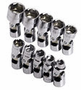 "SK Tool 10 Piece 1/4"" Drive 6 Point Flex Metric Socket Set"