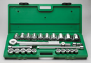 "SK Tool 25 Piece 3/4"" Drive 12 Point Fractional Socket Set"