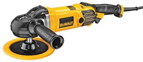 "DeWalt 7"" & 9"" Electronic Polisher with Protective Cover"