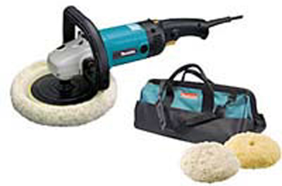 "Makita Premium Electronic 7"" Polisher & Sander Kit"