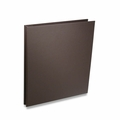 Rossano Synthetic Leather Screwpost Portfolio Presentation Books - Brown