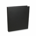 Rossano Synthetic Leather Screwpost Portfolio Presentation Books - Black