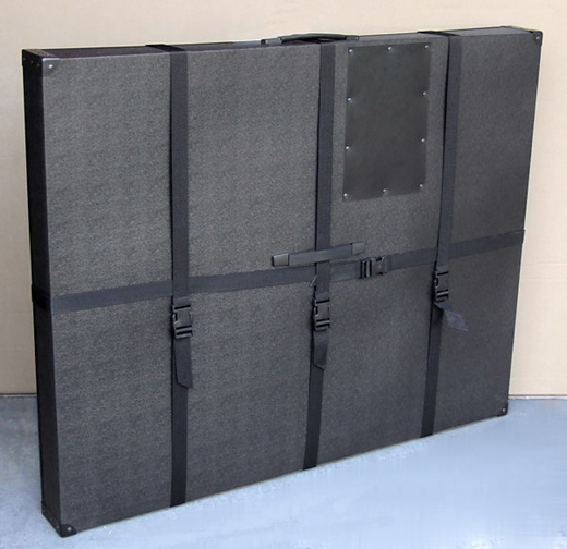 33quotx42quotx3quot hard sided art shipping amp carrying case for