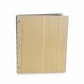 "Bamboo 14""x11""  Screwpost Portfolio Book - Natural"